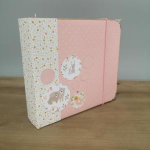 """Scrapbook/ Fotoalbum """"Babys erstes Jahr"""" Mädchen"""