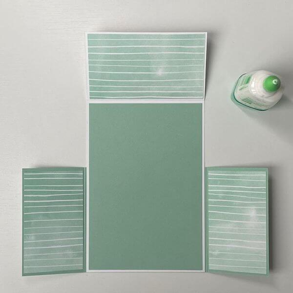 Designerpapier Zuschnitt innen
