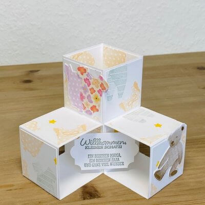 Triple PopUp Cube Card
