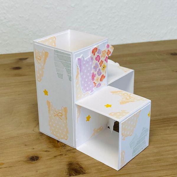 Rückseite Triple PopUp Cube Card